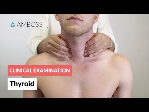Thyroid examination - Clinical examination | Δ AMBOSS