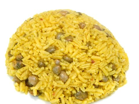 Arroz con Gandules or Rice and Pigeon Peas