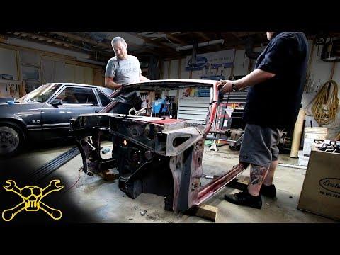 Chop Top Fox Body Mustang Hot Rod Build