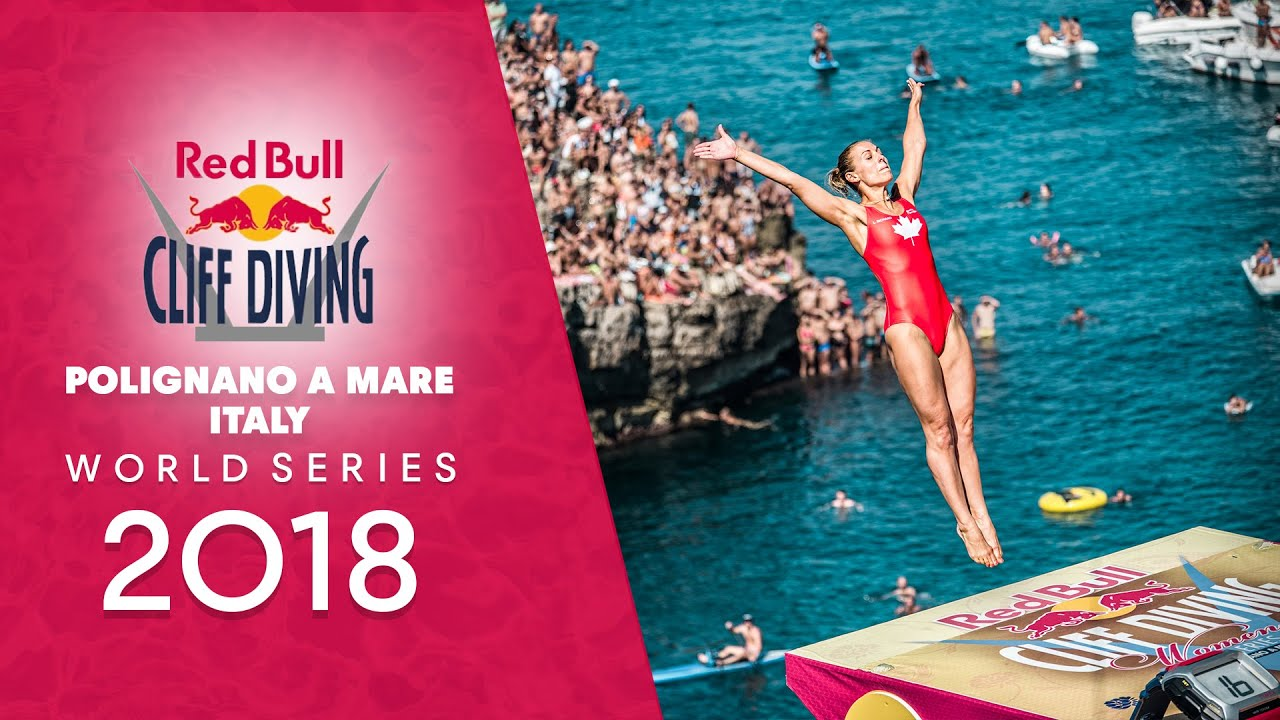 REPLAY Red Bull Cliff Diving World Series 2018 Italy