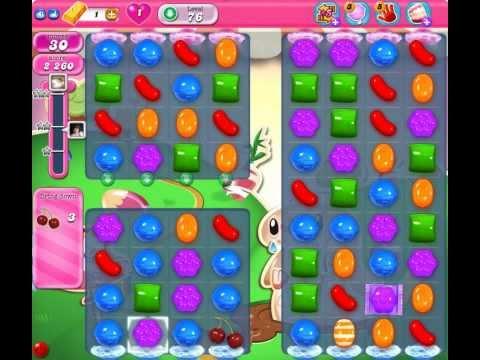 Candy Crush Saga - HOW TO PASS Level 76