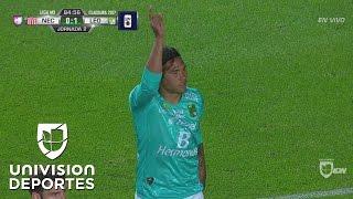 Golazo de Carlos Peña para el 1-0 de León sobre Necaxa