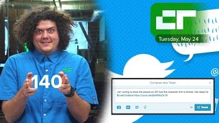 Twitter Changes 140 Character Limit | Crunch Report