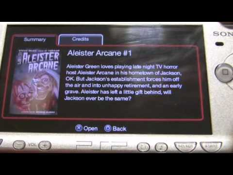 Sony PSP Digital Comics Impressions