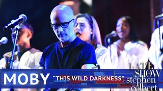 Moby Performs