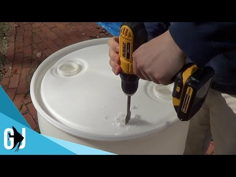 #338: How to Cut Open 55 Gallon Barrel - Tank Tip