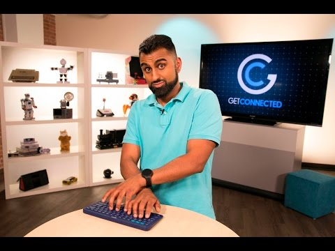 Bluetooth keyboard for your smartphone and smart TV | GetConnected