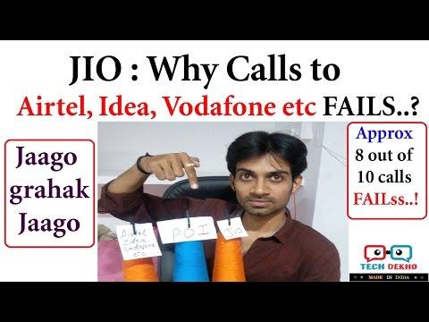 JIO WAR with Airtel, Idea, Vodafone etc | Why JIO Calls Drop? POI explained | Hindi