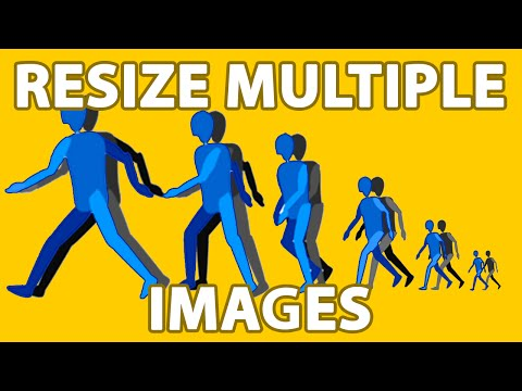 Resize Multiple Pictures At Once Mac OS X El Capitan