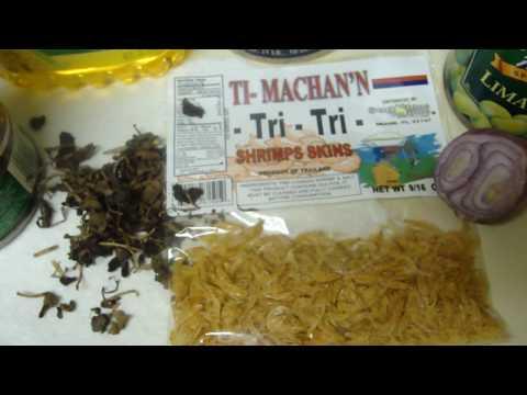 Haitian Rice w/ Black Mushroom or Du Riz Djon Djon & Snow Crab in sauce