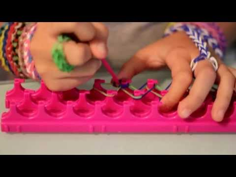 How to make single bracelet with crazy loom!