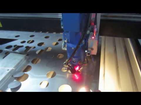 Acctek AKJ1390 Co2 laser machine ball screw transmission with Japan Panasonic servo motor
