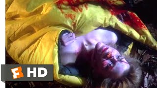 Friday the 13th VII: The New Blood (1988) - Sleeping Bag Kill Scene (2/10) | Movieclips