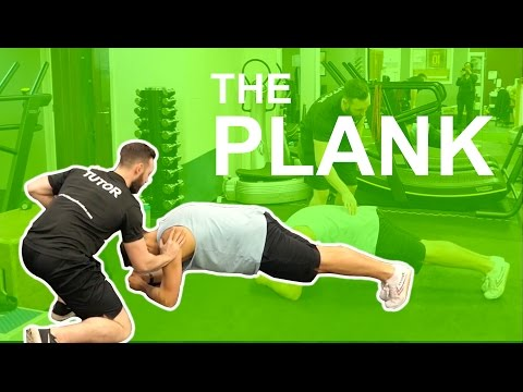 The plank - The most effective way to hold it!