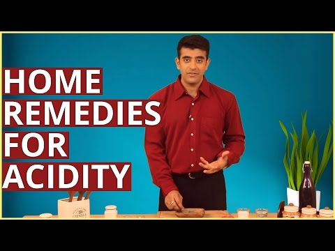 3 Best HOME REMEDIES FOR ACIDITY (ACID REFLUX) & HEARTBURN