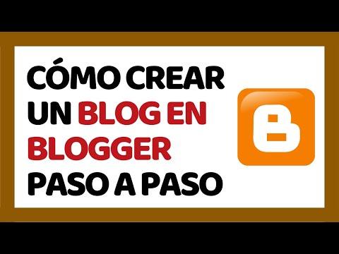 Cómo Crear un Blog en Blogger 2018 (Paso a Paso) | Cómo Usar Blogger 2018