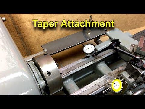 Homemade Taper Attachment For The Logan Lathe