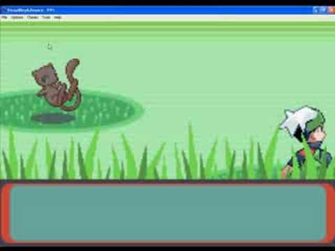 Catching Mew + GameShark Code !!!
