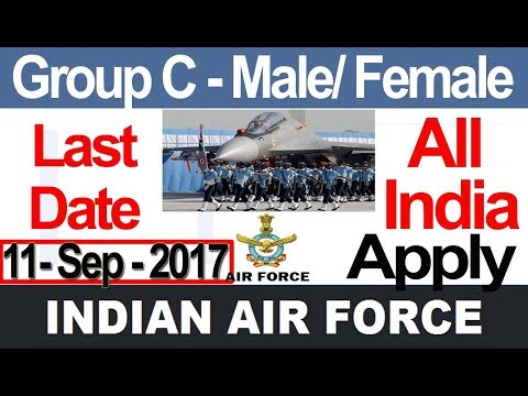 Latest Govt Job Join Indian Air Force Group C All India Apply Recruitment 2017