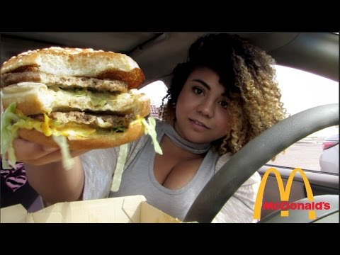 Big Mac and Fries McDonalds Mukbang