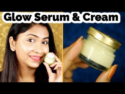 Summer Night Serum and Cream for bright and glowing skin for all skin types | Rabia Skincare