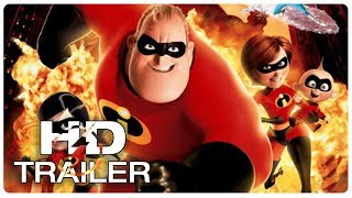 INCREDIBLES 2 Official Teaser Trailer #1 (2018) Animated Superhero Movie HD