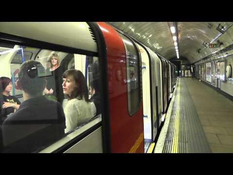 Victoria Line 2009TS 11030 @ Euston heading to King's Cross St Pancras