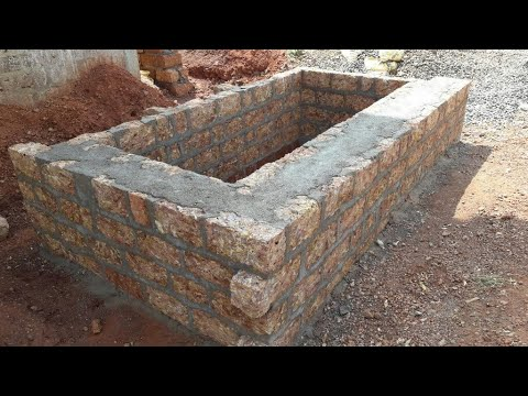 30 × 40 house Underground Septic Tank design