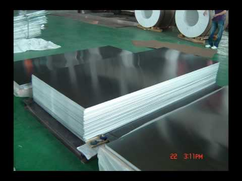 plain aluminum sheets