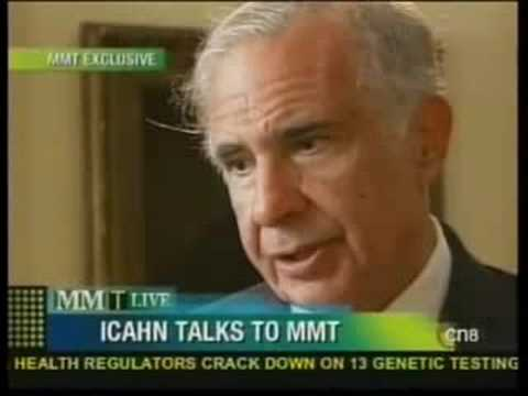 Icahn on Yahoo, Management Crisis