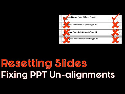 Resetting A PowerPoint Slide (It's Easy)