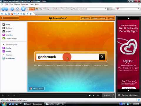 grooveshark free music online plus fullscreen free