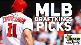 4/13/18 MLB DRAFTKINGS PICKS