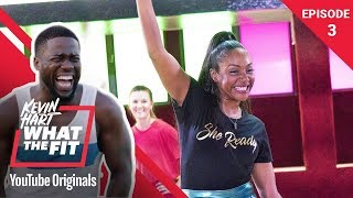 Download Roller Fitness with Tiffany Haddish | Kevin Hart: What The Fit Episode 3 | Laugh Out Loud Network Video