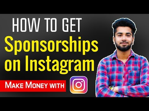 How to Get Sponsorships from instagram in India | Make Money with Instagram 😍😝
