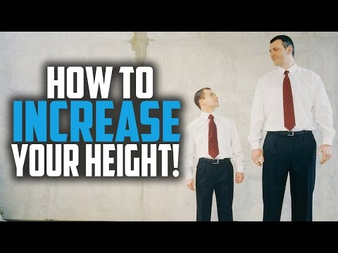 How to Increase Your Height & Grow Taller