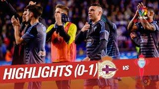 Resumen de Deportivo de la Coruña vs Celta de Vigo (0-1)
