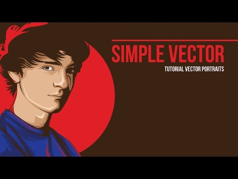 SIMPLE VECTOR - Tutorial Vector Using Adobe Illustrator CC.2016
