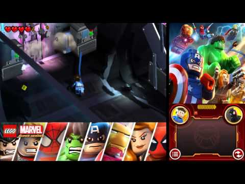 LEGO Marvel Super Heroes: Universe in Peril 100% Freeplay Guide - Chapter 13 - Asteroid M: Space