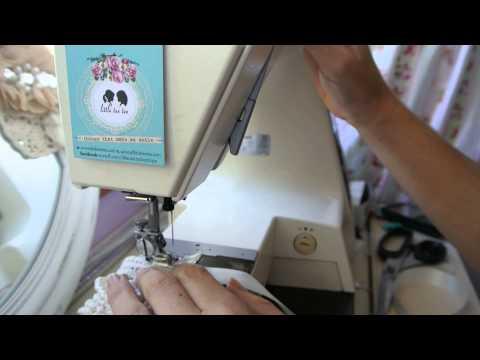 How to make a vintage inspired sash / belt