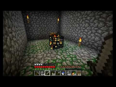 Minecraft GTTE #8: Making a dungeon safe and crafting maps