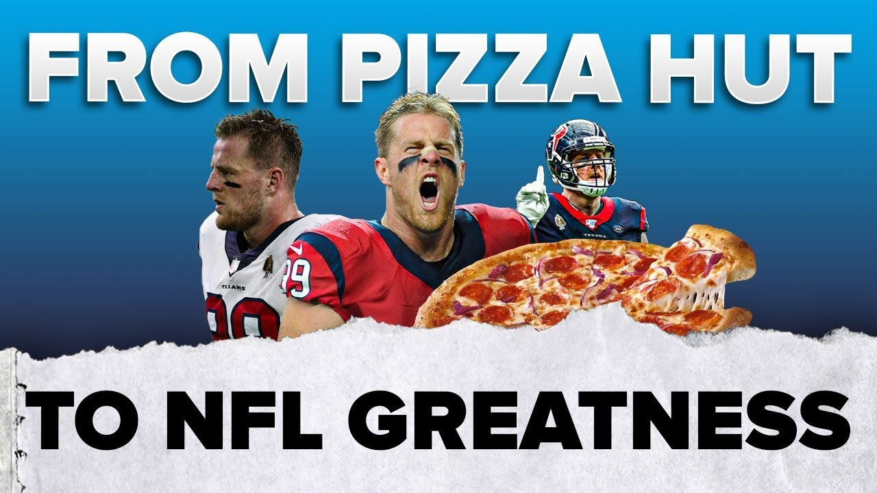 JJ Watt went from Pizza Hut ➡️ NFL | #shorts