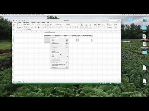 LabelMaker Excel Set Up Step 1