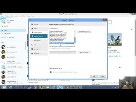 How to Unblock/Recover blocked contacts on Skype 2015