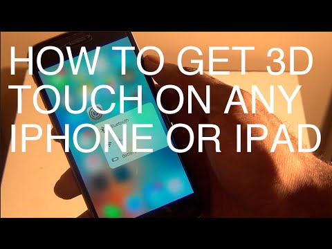 How To Enable 3D Touch on Any iPhone or iPad iOS 9.3.2/9.3.3 With RevealMenu