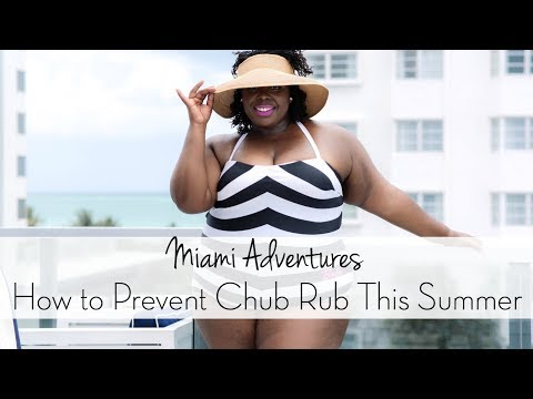 Miami Adventures and How to Prevent Chub Rub This Summer