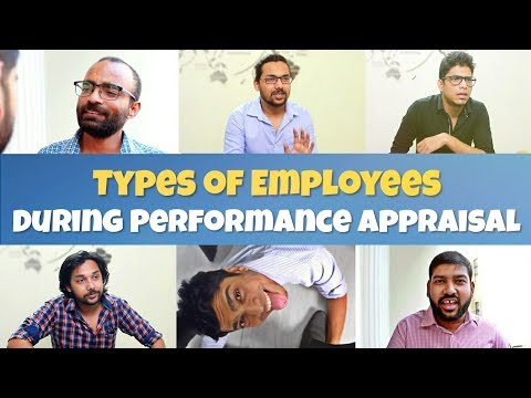 Types of Employees in a Performance Appraisal