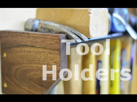 Tool holders for tool wall