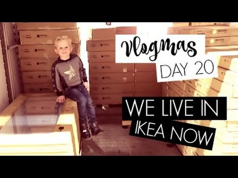 VLOGMAS DAY 20 / We Live in IKEA Now..