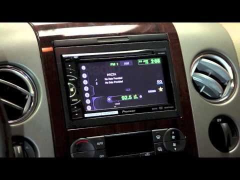 how to change the clock on your Pioneer AVH DVD video car stereo.